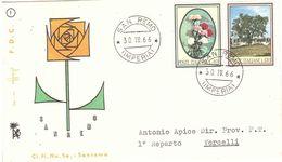 SAN REMO 30.IV.55 FLORA VIAGGIATA - Other