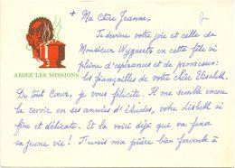 Visitekaartje - Carte De Visite - Devotie , Devotion - Soeur Jeanne Marie - Charleroi - Cartes De Visite