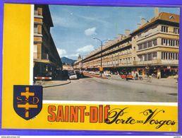 Carte Postale 88. Saint-Die Porte Des Vosges   Très Beau Plan - Saint Die