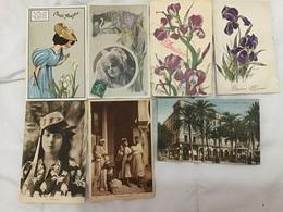 Lot De 7 Cartes Iris Alger - Cartes Postales