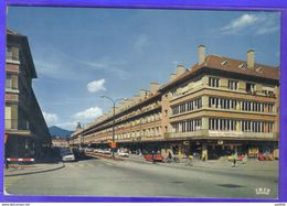 Carte Postale 88. Saint-Die Rue Thiers  Très Beau Plan - Saint Die