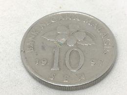 Moneda 1997. 10 Sen. Malasia. KM 51. MBC - Malaysia