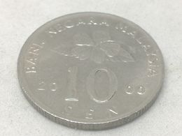 Moneda 2000. 10 Sen. Malasia. KM 51. MBC - Malaysie