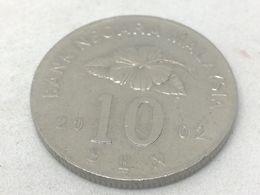 Moneda 2002. 10 Sen. Malasia. KM 51. MBC - Malaysie