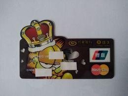 China, Garfield , (1pcs) - Geldkarten (Ablauf Min. 10 Jahre)