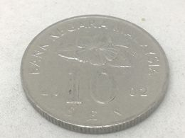 Moneda 2002. 10 Sen. Malasia. KM 51. MBC - Malaysia