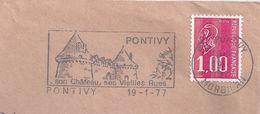 Secap De Pontivy - Chateau - Enveloppe Entière - Postmark Collection (Covers)