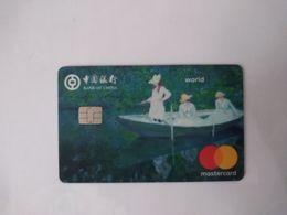 China, Claude Monet Painting , (1pcs) - Geldkarten (Ablauf Min. 10 Jahre)