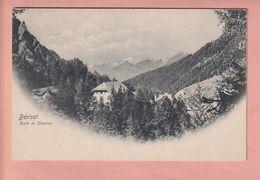 OUDE POST POSTKAART - ZWITSERLAND - SCHWEIZ -    SUISSE -   1900'S - BERISAL - ROUTE DU SIMPLON - VS Valais