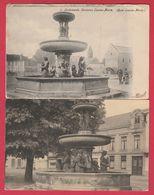 Oudenaarde / Audenarde - Fontein Louisa-Maria  - 2 PK ( Verso Zien ) - Oudenaarde