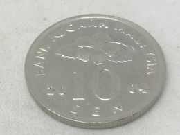 Moneda 2004. 10 Sen. Malasia. KM 51. MBC - Malaysia