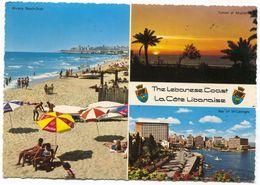 LIBAN / LEBANON - THE LEBANESE COAST, OLD PC - Lebanon