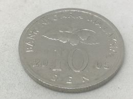 Moneda 2005. 10 Sen. Malasia. KM 51. MBC - Malaysie