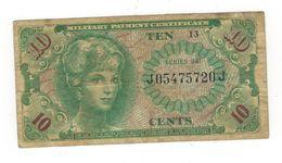 U.S.A. MPC. 10 Cents , Series 641 (1965-68) F. - Certificati Di Pagamenti Militari (1946-1973)