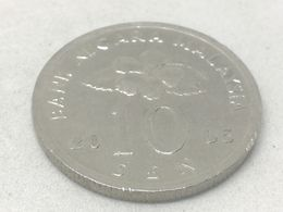 Moneda 2005. 10 Sen. Malasia. KM 51. MBC - Malaysia