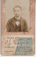 Exposition Universelle De Liège 1905 - Carte D' Abonnement Mr J. Degotte - Tickets D'entrée