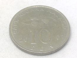 Moneda 2007. 10 Sen. Malasia. KM 51. MBC - Malaysie