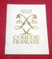 """Programme Comédie Française Décembre 1968 """"Le Cid"""" Corneille Michel Etcheverry Geneviève Casile Paul Emile Deiber - Programas"""