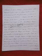 NAPOLEON 1 Er BONAPARTE LETTRE AUTOGRAPHE ADRESSÉE AU COMTE MOLLIEN DU 24 JANVIER 1812 RRRRRRRRRRR - Autographs
