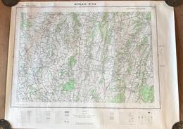 Carte 1/25000 - 1953 - MORLAAS N°3-4 - Topographical Maps