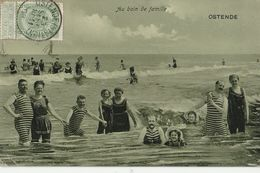 BELGIQUE - OSTENDE  Au Bain De Famille - Oostende