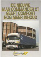 Brochure-leaflet: MAN-VW Truck & Bus B.v. Vianen (NL) München (D) Commander XT - Trucks