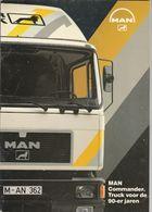 Brochure-leaflet: MAN-VW Truck & Bus B.v. Vianen (NL) München (D) Commander Super Truck - Trucks