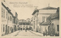 Kismarton Burgenland - Jewish Street / Synagogue - Judaisme