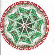 ETIQUETTE  DE  FROMAGE     SAINT PAULIN VAL RIANT  BRETAGNE 35 B MONTAUBAN DE BRETAGNE  ILLE ET VILAINE - Quesos