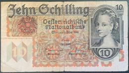 AUSTRIA - Banconota 10 SCHILLING  -  2 Febbraio 1946 - Austria