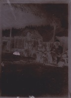 PLAQUE DE VERRE  ANCIENNE PROVENANT DU SENEGAL - Plaques De Verre