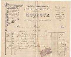 Charente, La Rochelle, Grande Teinturerie Mourouz 1897 - 1800 – 1899