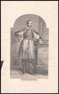 XIX. Sz Vége: I. Ottó Görög Király Fametszetű Képe / Otto I. King Of Greece. Woodplate 25x15 Cm - Gravures