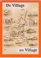 """De Village En Village - Route Du Beaujolais -  Juliènas - Morgon - Villefranche  -   2 Timbres  """"fables De La Fontaine"""" - Maps"""
