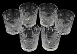 Ólomkristály Vizespohár Készlet 6 Db. Hibátlanok 9 Cm - Vidrio & Cristal