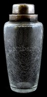 WMF Koktél Shaker, Kraklé üveggel, Fém Fedélrésszel, Címkével Jelzett, M: 20 Cm - Vidrio & Cristal