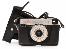 Lomo Smena 8M Fényképezőgép T-43 40mm F/4 Objektívvel, Eredeti Tokjában, Jó állapotban - Appareils Photo