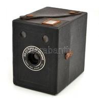 Cca 1937 Kodak Eastman Six-20 Popular Brownie Box Fényképezőgép, Működőképes állapotban / Vintage Kodak Box Camera, In W - Appareils Photo