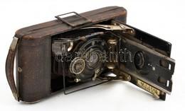 """Voigtländer IBSOR Fényképezőgép Anastigmat """"Voigtar"""" 1:6,3, F=10,5 Cm Objektívvel, 6x9 Cm Filmformátumhoz, Kopott, A Hát - Macchine Fotografiche"""
