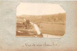 ¤¤   -  JAULNY   -   Cliché Albuminé Vers 1900  -  Vue D'une Chambre Du Chateau   -  Voir Description   -  ¤¤ - Francia