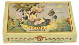 Keringő, Szerencs, Szerencsi Csokoládégyár Bonbonos Doboz, 20x14x3 Cm - Autres Collections