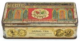 Constantinople Cigarettás Fémdoboz, Kopott, 15x7x4 Cm - Autres Collections