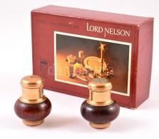 Lord Nelson Só-bors Tartó, Eredeti Dobozában, Enyhén Kopott - Autres Collections