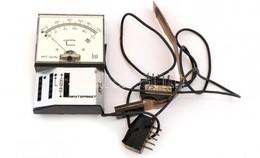 Cca 1990, Német Gyártmányú, Hőmérsékletet Celsiusban Mérő, Störk Stuttgart Minitermist Műszer. 2 Db Kábellel, Egyik Kábe - Autres Collections
