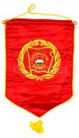 Szocialista Brigád Asztali Zászló, Jó állapotban, 36×27 Cm - Autres Collections