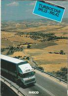 Brochure-leaflet: IVECO Apeldoorn (NL) Turin Italia (I)1983 Serie 190 - Trucks