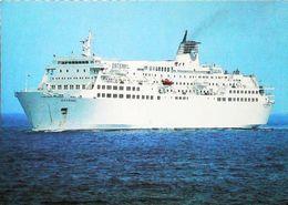 Paquebot Ferry - ESTEREL - Cie SNCM - En Traversée Corse Continent - Fähren