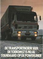 Brochure-leaflet: Mercedes-benz Nederland B.v. Utrecht (NL) Powerliner - Trucks