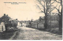 51    Chatillon Sur Marne       Entrée Du Pays   Rue Du Bois - Châtillon-sur-Marne