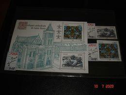 FRANCE ANNEE 2015  NEUFS  N° 4930 4931  ET FEUILLET N° F 4930   BASILIQUE CATHEDRALE DE SAINT DENIS - Stamps